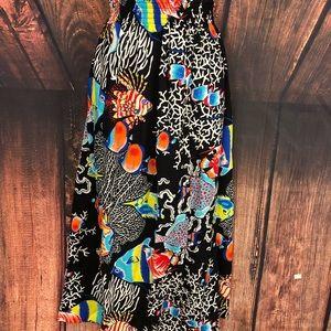 Dresses & Skirts - Women's Under The Sea Maxi Skirt Sz 5